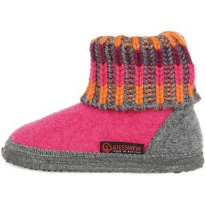 Giesswein Kronau, Hüttenschuhe Unisex Kinder, Pink, 25 EU