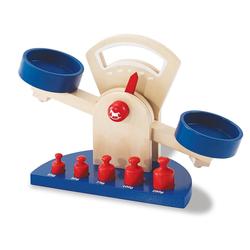 Pinolino® Kinder-Küchenwaage Willy (6tlg), (Set, 6-tlg), aus Lindenholz gefertigt