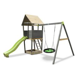EXIT Spielturm mit Schaukel »Aksent«