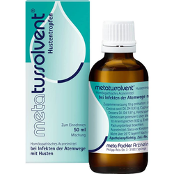 METATUSSOLVENT Hustentropfen 50 ml