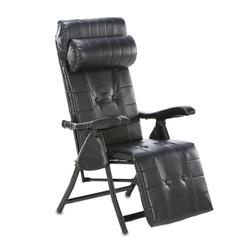 aktivshop Relaxsessel Multi-Positions-Komfort-Liegestuhl, Schwarz schwarz