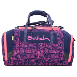 Satch Duffle Bag Sporttasche 44 cm pinke dreiecklinien pink bermuda