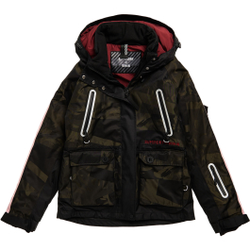 Superdry - Freestyle Cargo Jacket W Camo - Skijacken - Größe: L