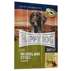 HAPPY DOG Neuseeland Sticks Lamb 30g