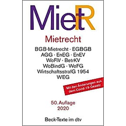 Mietrecht (MietR) - Buch
