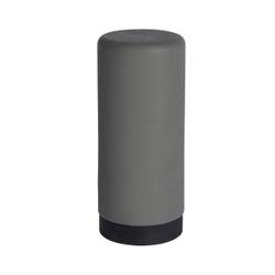 WENKO Easy Squeez-e Spülmittelspender, 250 ml, Nachfüllbarer Seifen- und Spülmittelsdosierer ideal für Küche, Bad und Gäste-WC, Farbe: grau
