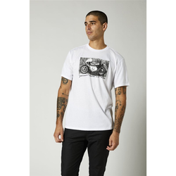 Tshirt FOX - Yoshimura Racer Profile Ss Tee Optic White (190)