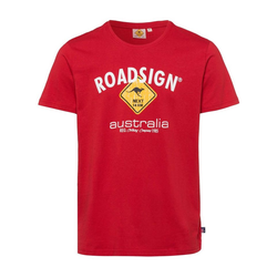 ROADSIGN australia T-Shirt Roadsigner mit Australien-Motiv rot XL
