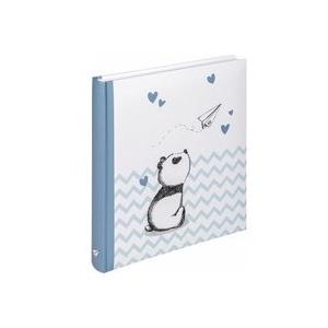 Walther Baby Little Panda blau 28x30,5 50 weiße Seiten UK281L