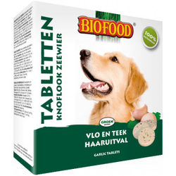 Biofood Knoblauchtabletten - Algen 3 Stück
