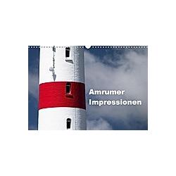 Amrumer Impressionen (Wandkalender 2021 DIN A3 quer)