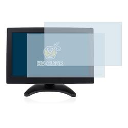 BROTECT Schutzfolie für Eyoyo HD TFT LCD HDMI Monitor, (2 Stück), Folie Schutzfolie klar