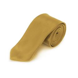 Krawatte Schlips schmal Binder Style - champagner
