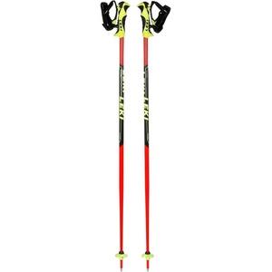 LEKI Kinder Worldcup Lite SL Skistöcke, Neonrot/Schwarz/Weiß/Neongelb, 115 cm