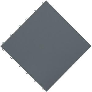 florco® Terrassenplatten floor, 40x40 cm, 6-St., Klickfliesen grau