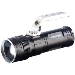 LED-Akku-Taschenlampe TRC-180.3a mit Zoom, 1000 lm, 10 Watt, IP65