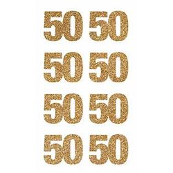 Sticker 50 Gold