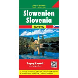 Slowenien Autokarte 1:200.000