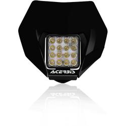 Acerbis VSL Koplamp, zwart