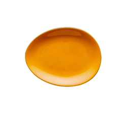 Colani Teller Luigi Colani Teller / ab ovo, (1 Stück) orange