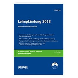 Lohnpfändung 2018  m. CD-ROM - Buch