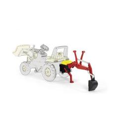 Rolly Toys Heckbagger rot für Trettraktor / Tretbulldog