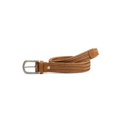 Walbusch Damen Dehn-Gürtel Braun einfarbig 100cm 100cm