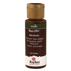 Rayher Allesfarbe Acrylfarben mokka 59,0 ml, 1 St.