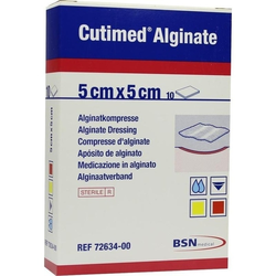 Cutimed Alginate 5x5cm Alginatkompresse