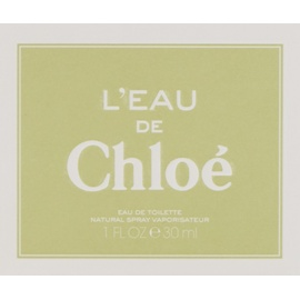 Chloé Leau Eau De Toilette Preisvergleich Billigerde