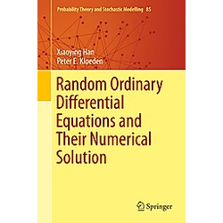Random Ordinary Differential Equations and their Numerical Solution. Xiaoying Han  Peter E. Kloeden  - Buch