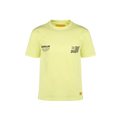 CATERPILLAR T-Shirt Caterpillar B-W Flag gelb S