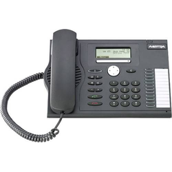 Mitel MiVoice 5370 Systemtelefon Systemtelefon,VoIP PIN Code LC-Display Anthrazit