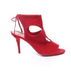 Aquazzura Damen Sandaletten rot, Größe 39.5, 4904924