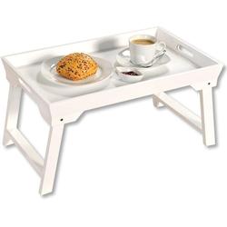 KESPER for kitchen & home Tablett Bett-Tablett, MDF, mit Klappfüßen