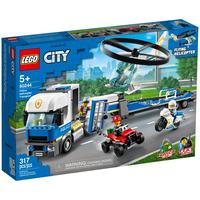 Lego City Polizeihubschrauber-Transport 60244