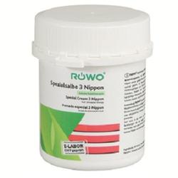 RÖWO® Spezialsalbe 3 Nippon (durchblutungsfördernd), Spezialsalbe 3 Nippon mit Bimsstein, 100 ml - Dose