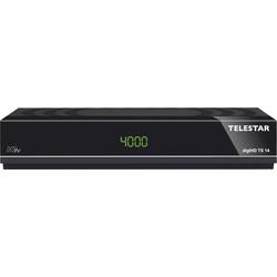 Satelliten Receiver digiHD TS 14 HDTV (DVB-S, DVB-S2, Alexa, Google Home, PVR ready, HDMI, Scart, USB) schwarz