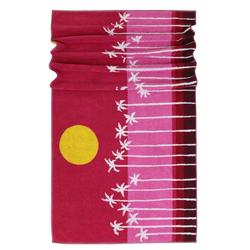 Lashuma Strandtücher (1-St), - Das gute Laune Tuch! rot