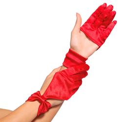 Leg Avenue Halb-Handschuhe in Seiden-Optik