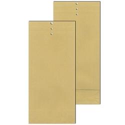 MAILmedia Musterbeutel ohne Fenster braun mit 5,0 cm Falte, 100 St.