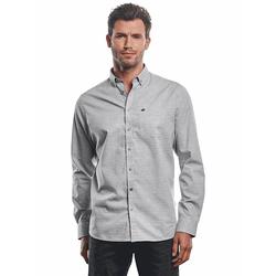 Hemd im Streifendesign Engbers Silbergrau