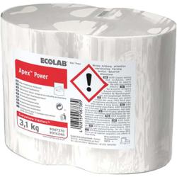 ECOLAB Apex Power Spülmittel, Hochkonzentriertes Maschinenspülmittel in Blockform, 1 Karton = 4 x 3,1 kg - Blöcke