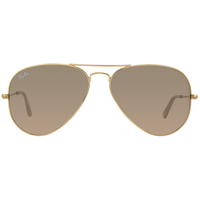 Ray Ban Aviator Flash Lenses RB3025 58mm gold / silver-pink flash
