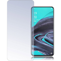 4smarts Glasfolie Second Glass 2.5D für Oppo Reno 2 weiß