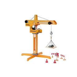 Hape Spielzeug-Kran Großer Baukran, aus Holz