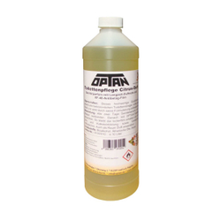 OPTAN Toilettenpflege, Citrusduft, Sanitärparfüm mit Langzeit-Duftnote, 1 Liter - Flasche