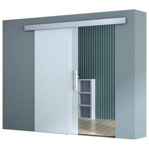 doporro Glasschiebetür doporro Glasschiebetür Amalfi TS12-775 ESG Sicherheitsglas satiniert 102.5 cm x 205 cm