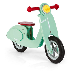 Janod Laufrad Laufrad gross Scooter mint (Holz) 9.4 Zoll