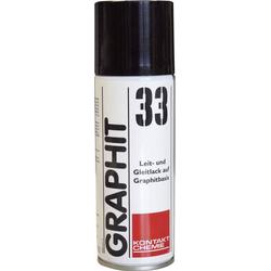 Kontakt Chemie GRAPHIT 33 76009-AA Graphitlack 200ml